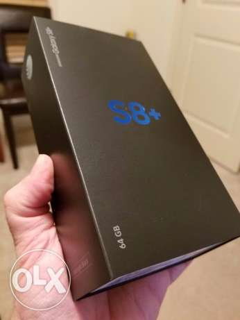 Samsung Galaxy S8+ SM-G955U 64GB Midnight Black