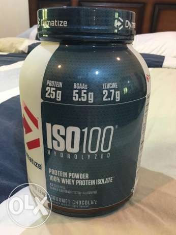 ISO 100 protein powder