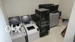 hp printers dell pc and lcd