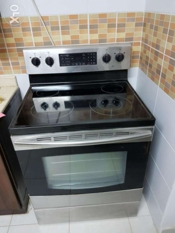 Lightly Used Electric Range