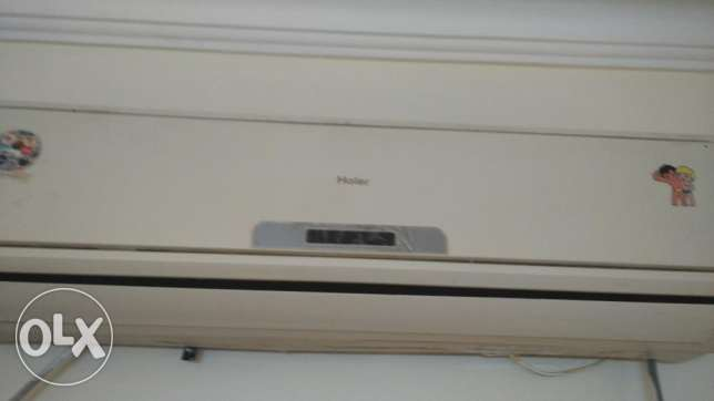 Ac split 700 sar very good in condition Haier brand