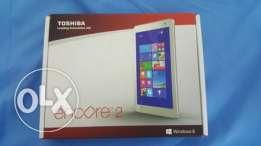 Toshiba 64 GB tablet with 2 years warranty