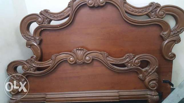 King size bed 200 cm/190 cm for sale 200 SAR only