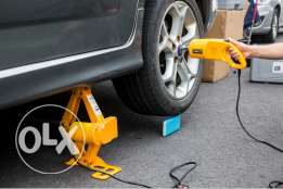 Electrical Car Jack with electrical Wrencch