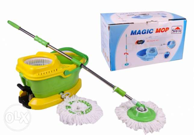 Magic Mop 360 spin -- Cleaning Mob