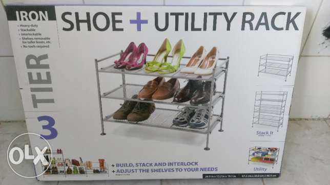 Heavy Duty Shoe & Utility Rack