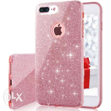 Iphone 7 Plus Case, Back Cover Shinning Protective Bumper