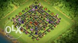 Clash of clans كلاش اوف كلان 10