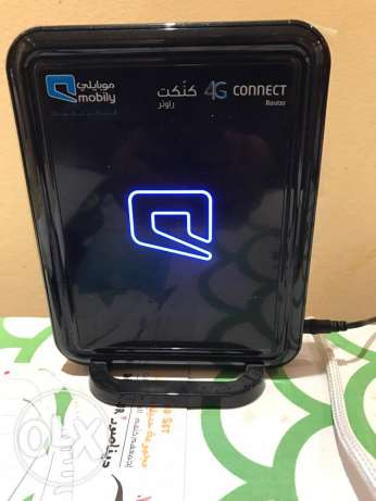 mobily router 4G speed