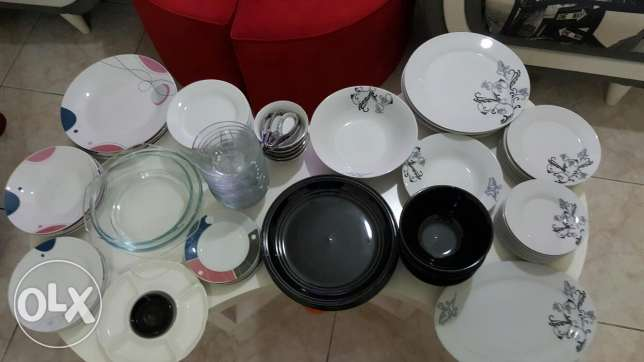 Cooking and dinner sets over 150 items جدة -  1