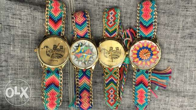 Women Fabric strap watch