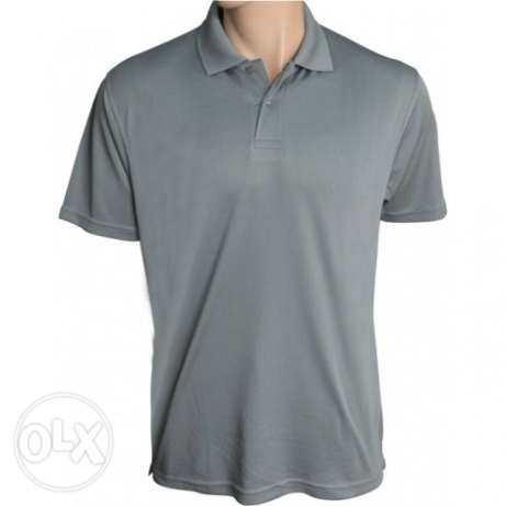 Polo shirts w logo embroidery for offices, schools and industrial wear