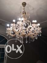 two chandeliers for sale