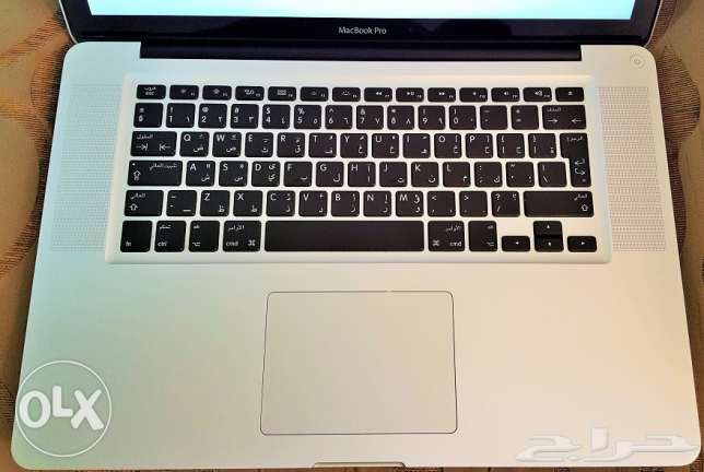 MACBOOK Pro -Intel Core i5 Processor 2.5- Ram 4GB - HDD 320GB -15 Inch
