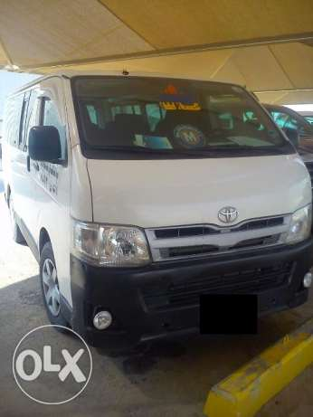 Toyota Van available on Rent