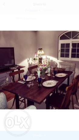 dining table and rug جدة -  5