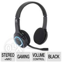 Logitech Wireless Headset with Nano USB Receiver (Music/ Gaming)
