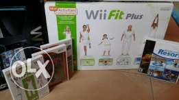 Wii with Wii Fitness Plus & accessories