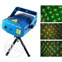 Laser stage lighting projector