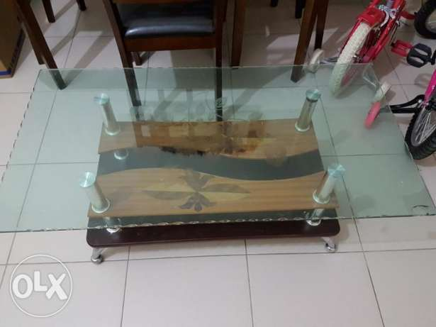 Home Center Cupboad, Dinning Table, Sofa Cum Bed