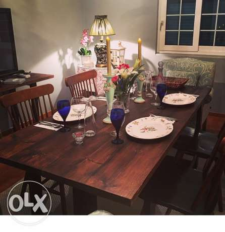dining table and rug جدة -  4