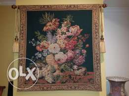 French Aubusson Wall tapestry