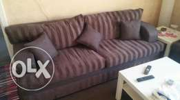 Sofa set 5 months used