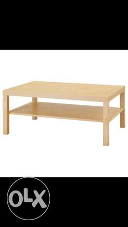 ikea middle table wood