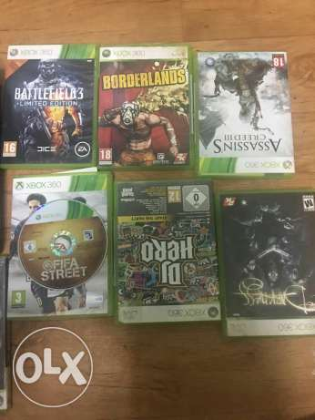 Xbox 360 with 10 games CDs. الدمام -  3