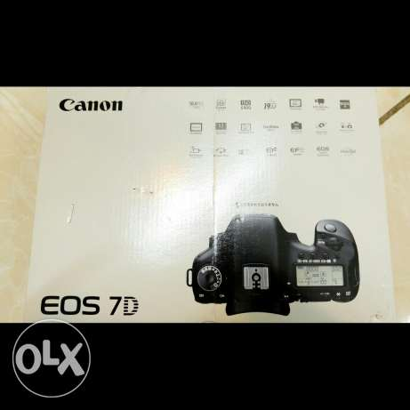 Canon 7D Totally In New Condition With 50mm Lens الرياض -  5