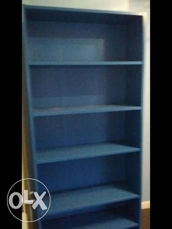 *IKEA blue BILLY bookshelf* for sale