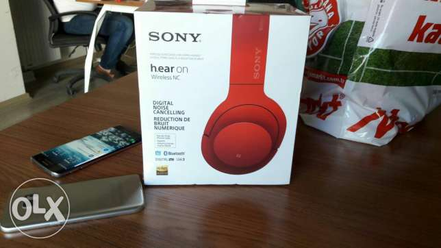Stylish active noise cancelling headphone from Sony, ANC MDR 100ABN.