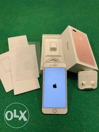 iphone 7 plus 128 gb 100% original with complete accessories
