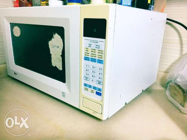LG Microwave 30 Liters for urgent sale throw away price