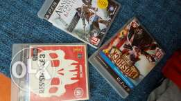 BEST OFFER! 3 PS3 games for only 150SR total price