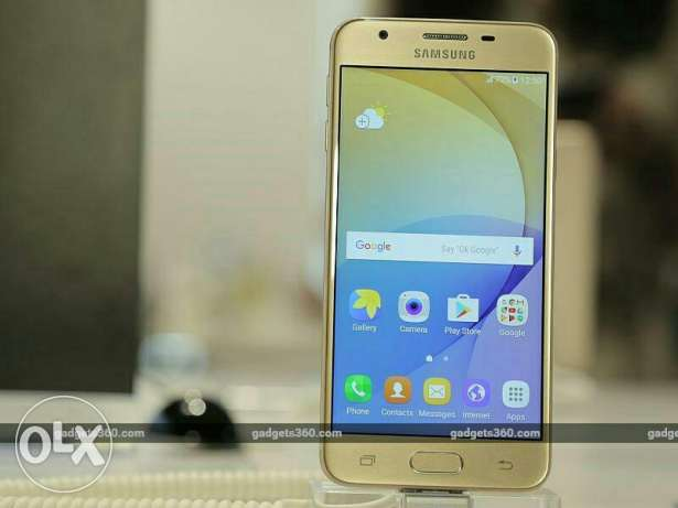 Galaxy j5 prime gold with finger print