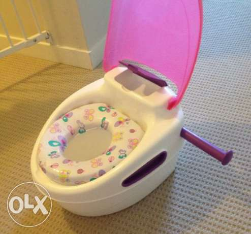 Summer infant step by step potty trainer