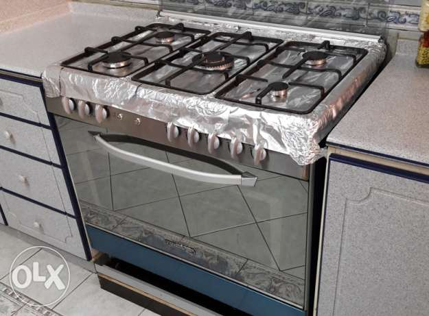 LA Germania 90x60 5-burner Stove + Oven (Made in Italy)
