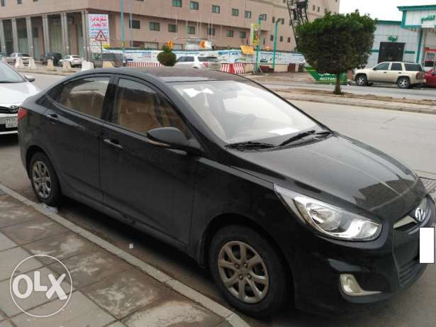 Hyundai Accent 2015 model with only 14500 km for sale - 33000 SAR