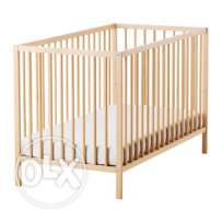 Baby Cot & Chair