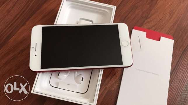 iphone 7 plus 128 gb red finishing new authenthic with bill and warran