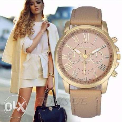 New Fashion Women Geneva Stainless