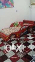 Kids Car Bed for Urgent Sale-Give away price