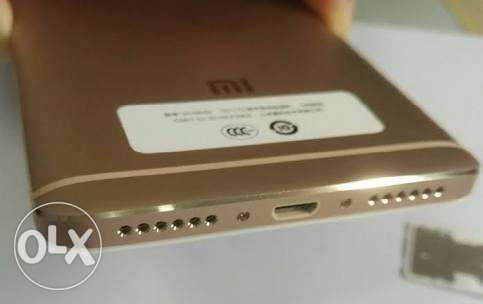 Xiaomi Redmi Note 4 32 GB, 3 Ram, Gold