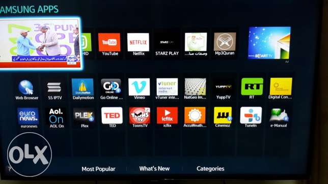 Samsung Smart Tv 48 inch