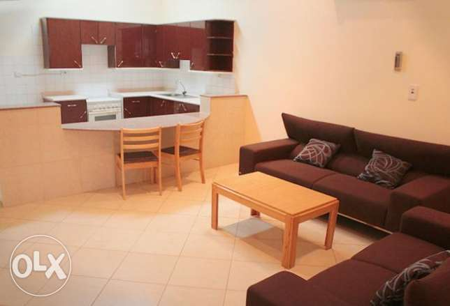Executive apartment with patio for rent
