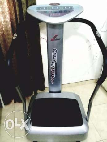 Crazy Fit Massage fitness Machine brand new