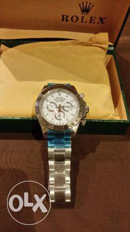 Rolex and Hublot watches