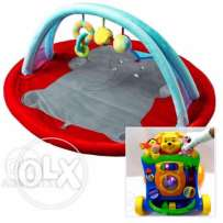 baby playmat and baby musical