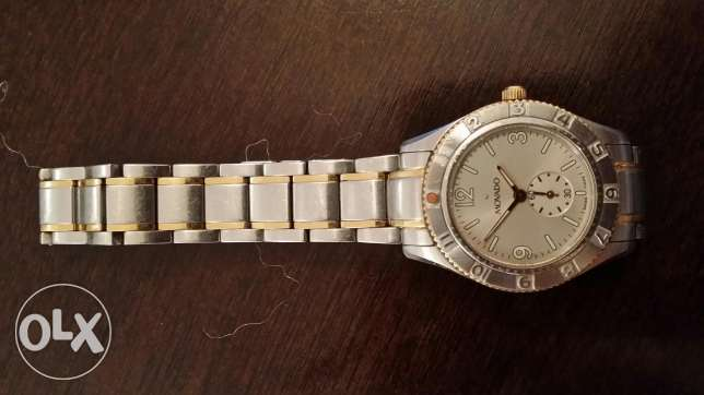 Movado Gold Plated Original Watch